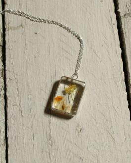 Citrine and Goldenrod Necklace